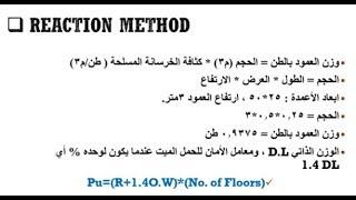 التصميم الانشائي (4) ( الأعمدة  (طرق تصميم الأعمدة وأمور تنفيذية )   م. محمد النمرة