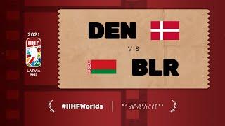 Highlights: DENMARK vs BELARUS | 2021 #IIHFWorlds