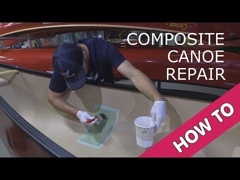 Composite Canoe Repair