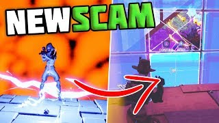 *NEW SCAM* The Teleportation Scam, Scammer Gets Scammed For All His GUNS! - Fortnite Save The World