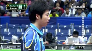 2014 Tai Ben Invitational SF1: Mizutani Jun - Persson Jorgen [HD] [Full Match/Chinese]