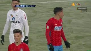 FCSB - Gaz Metan 2-1 Morutan eliminat dupa un fault!  Liga 1 Etapa 17