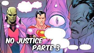 """LIGA DE LA JUSTICIA Vs TITANES OMEGA """"NO JUSTICE"""" PARTE 3 @SoyComicsT"""