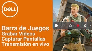 Usar la Barra de Juegos de Windows 10 para capturar vídeos