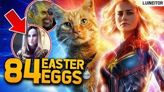 CAPITANA MARVEL - 84 Secretos, Referencias, Cameos y Easter Eggs de la película!! Luineitor
