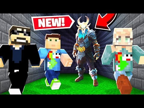 FORTNITE MURDER RUN! Minecraft Modded Mini-Game