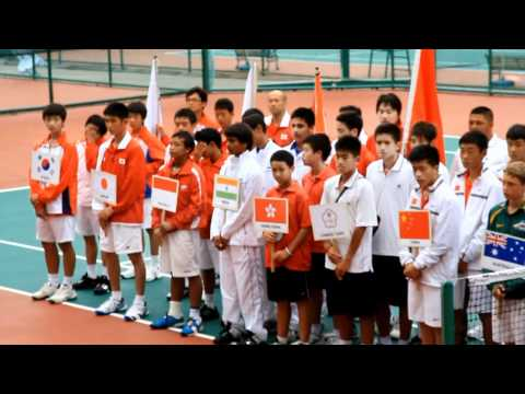 Opening Ceremony Final  Qualifying Asia/Oceania ITF World Junior Team 2011.