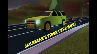 Buying The SUV in Jailbreak and racing it | Roblox