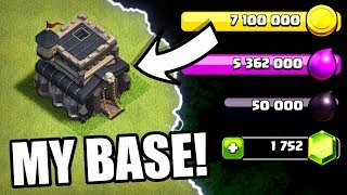 THIS IS MY BASE!! - Clash Of Clans - TIME TO UPGRADE!