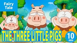 THE THREE LITTLE PIGS (ENGLISH) Animation of World's Fairytale/Folk...