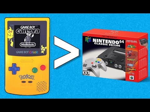 Gameboy Classic Edition Before the Nintendo 64 - 30 Reasons Why - YouTube
