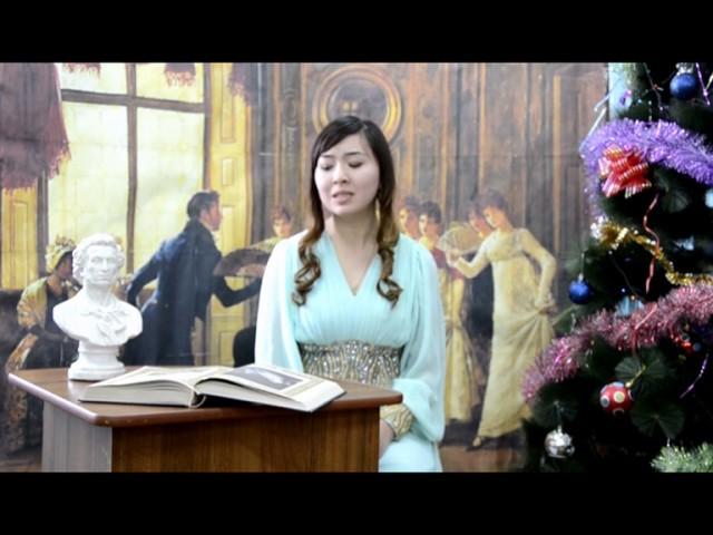 Изображение предпросмотра прочтения – ЗейнабУразалиева читает произведение «Евгений Онегин» А.С.Пушкина