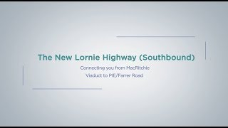 Travel Route from Bishan Road to Lornie Highway