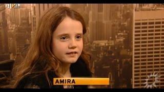 Amira Willighagen - Interview Day Before Finals Holland's Got Talent 2013