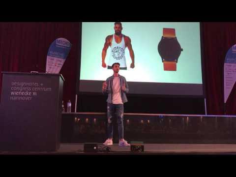 Social Media für Unternehmen - Lukas Mankow Keynote   Merchantday 2017