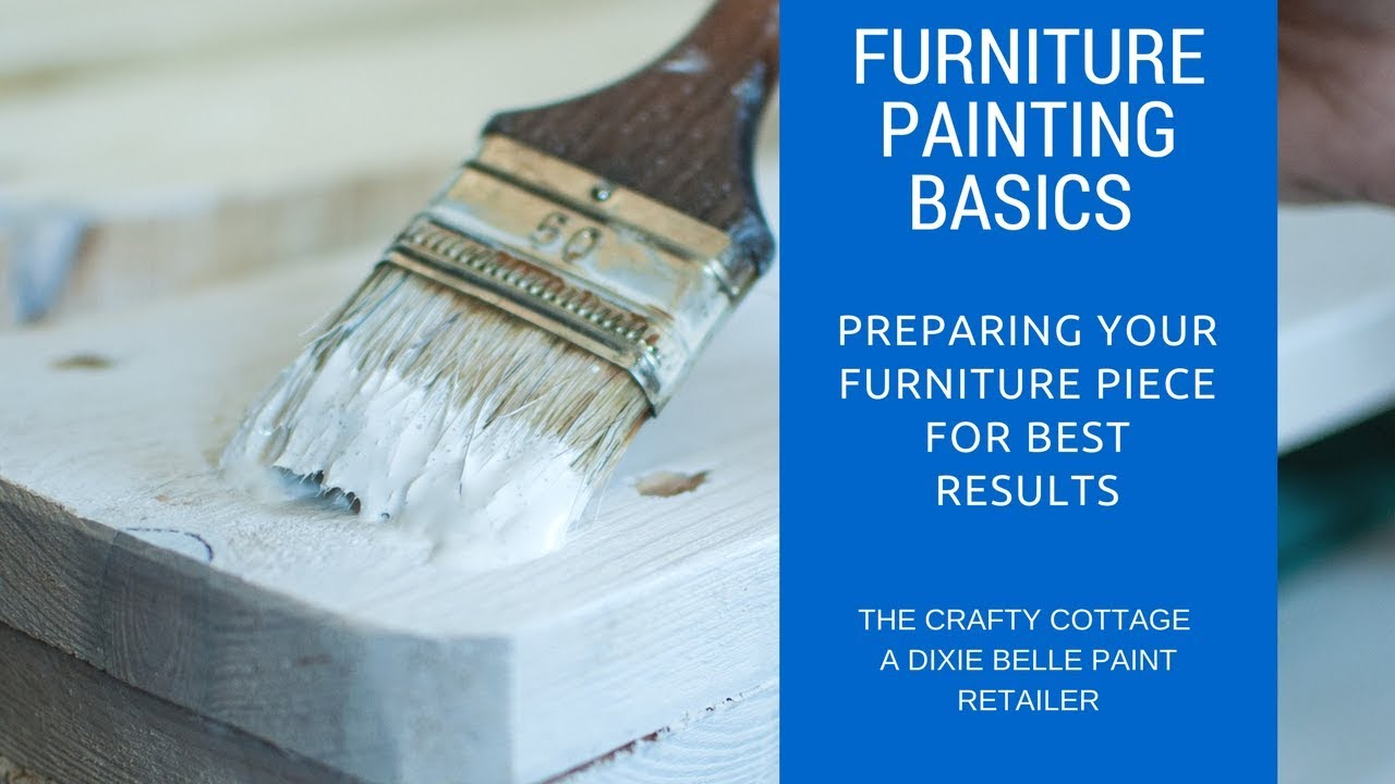 Preparing Furniture To Chalk Paint Diy Painting With Dixie Belle Part 1