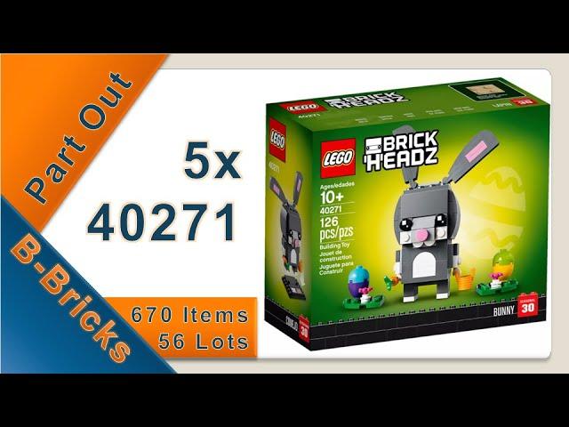 Part Out Party, Lego 40271 ausgepartet für meinen Bricklink-Shop