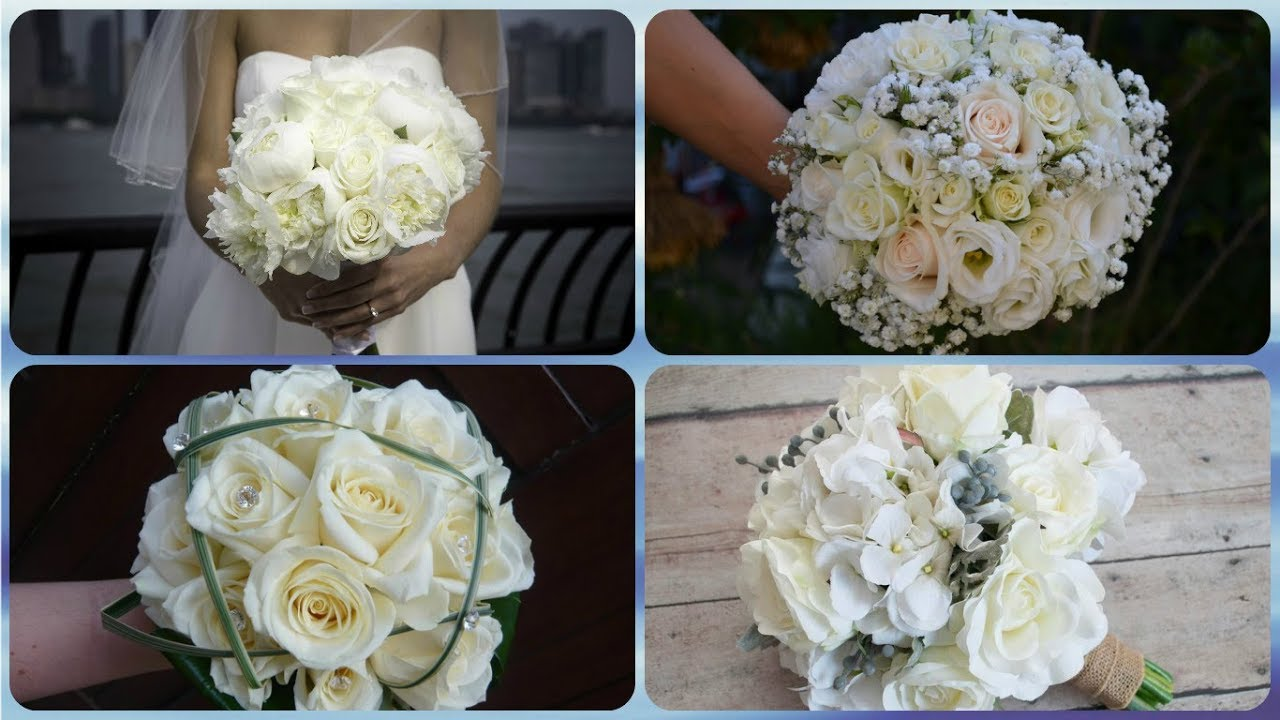 Bouquet Sposa Bianco.Top 20 Idee Per Bouquet Sposa Bianco Youtube