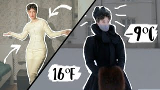 How Did Victorian Ladies Stay Warm in Winter? || THE EXPERIMENT