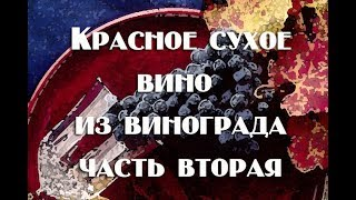 Сухое вино , часть2  Снаятие с осадка,осветление, разлив, карбонизация Видео 18+
