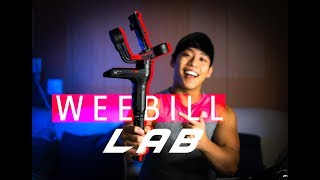 Zhiyun WEEBILL Lab | Best TRAVEL Gimbal! | First Impressions + Test Footage