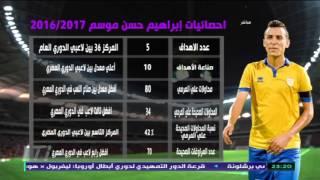 أحمد عفيفى يعرض إحصائيات