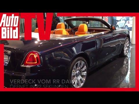 AUTO BILD Quick Shot: Rolls-Royce Studio Hamburg 2016