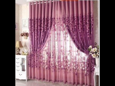 Pink and Purple Curtains are a Colorful Way to Brighten up Your Room