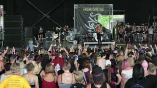 Andy Black - Vans Warped Tour (Full Performance, Charlotte, 7-6-2017)