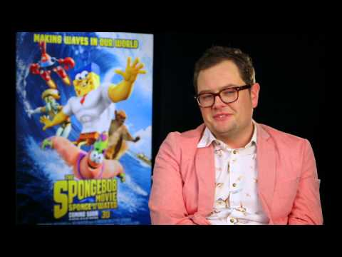 Alan Carr Interview - The Spongebob Movie Sponge Out Of Water