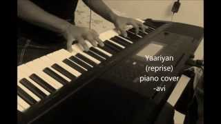 Download yaariyan (reprise) cocktail piano cover MP3 song and Music Video