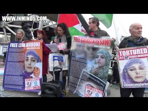 IWD - Vigil In Solidarity With Palestinian Women Political Prisoners [Inminds] 10th Mar 2017
