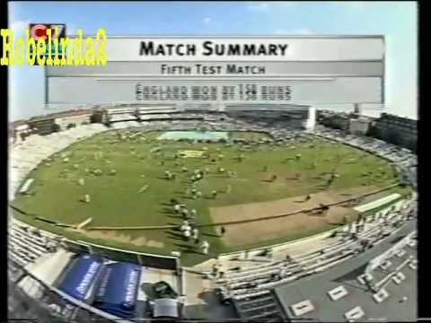 DEATH OF WEST INDIES CRICKET - THE OVAL 2000 vs ENGLAND