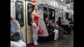 Приколы 2019. Мода в метро. Funny.Fashion.