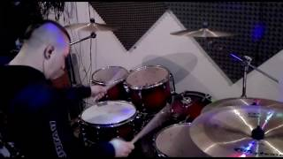 Ghost - He is  drum cover/ Yamaha EAD 10 short clip