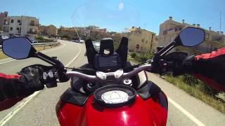 Ducati multistrada 1200S DVT 2015 ligne Termignoni complète sans dB Killer
