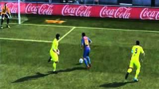 PES 2012-Amazing Goal!!-MESSI Thumbnail