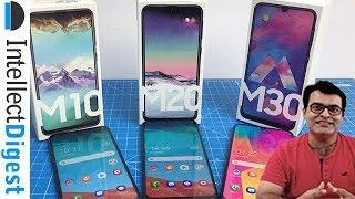 Samsung Galaxy M30 VS Galaxy M20 VS Galaxy M10- Detailed Comparison