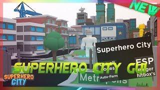 Roblox : Superhero City ( ROBLOX HACK/SCRIPT - France ESP Bigger hitbox's Auto-Farm Utiliser tous les codes - TRAVAIL