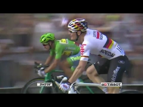 André Greipel and Peter Sagan Tour de France 2016 Stage 21 Paris