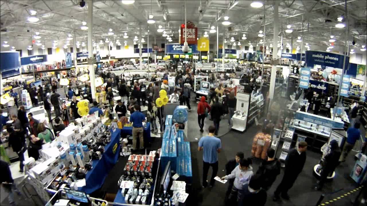 best buy bellingham wa time lapse of black friday 2011 youtube. Black Bedroom Furniture Sets. Home Design Ideas