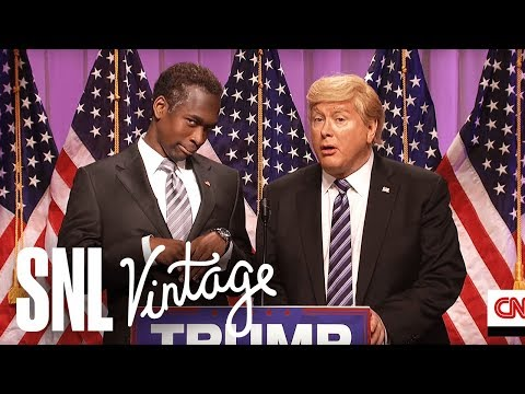 Carson Endorsement Cold Open - SNL