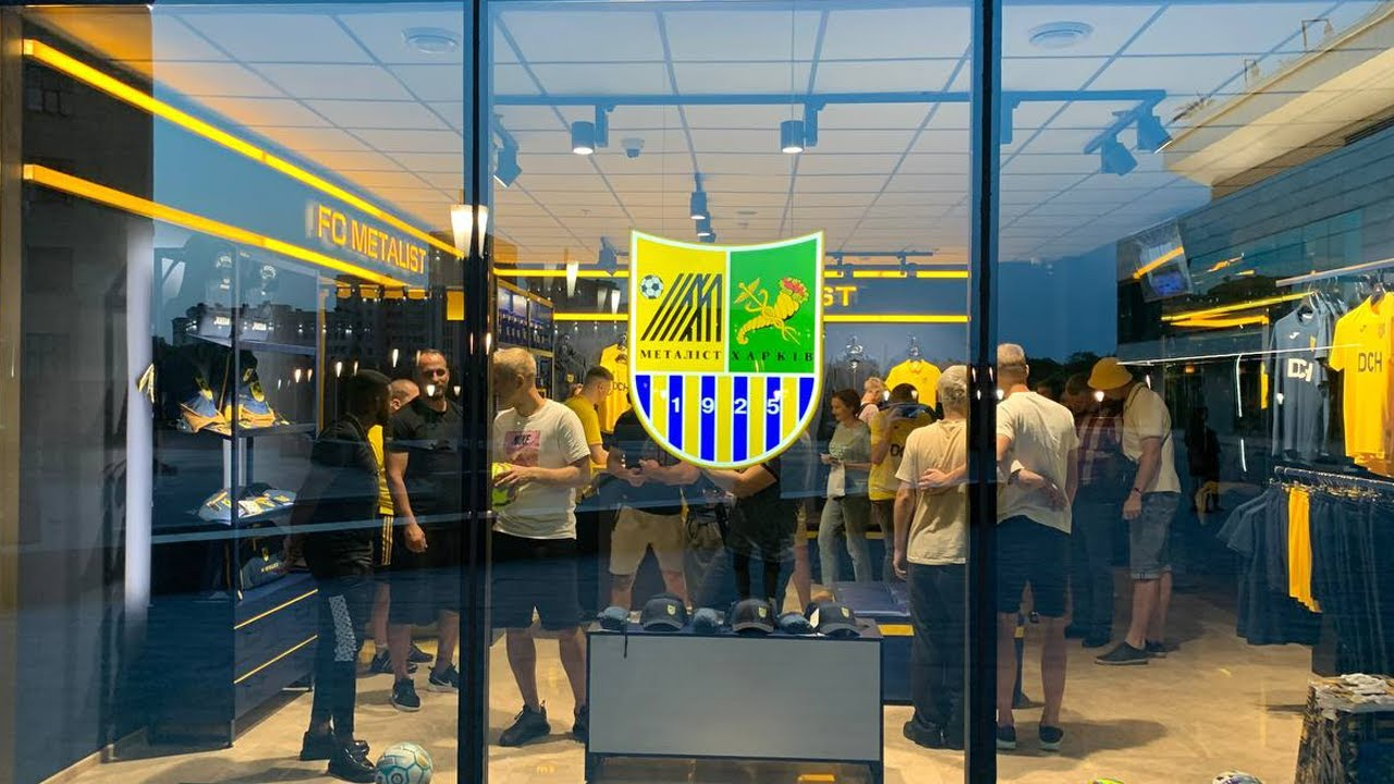 В luxury-отеле Kharkiv Palace 5★ открыли Metalist Fan Store