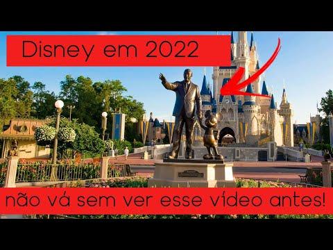 5 Coisas que você precisa saber se está planejando viajar para a Disney em 2022
