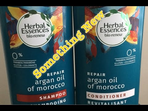 Herbal Essences Bio: Renew Repair Products|| Simple Wash-day Hair Routine
