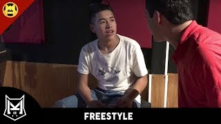 Kevin Martes 13 Vs. Mala Lexe - Freestyle en el estudio