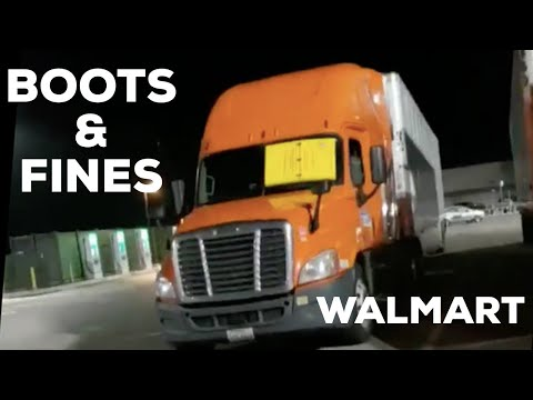 Truck Drivers Booted And Fined At Walmart Locations 2019