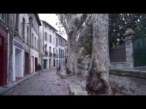 Avignon, France part 1, walking tour in Old Town