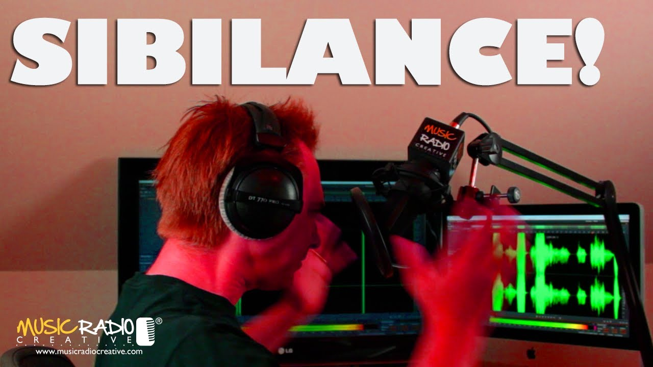 what is sibilance  using the deesser in adobe audition cc