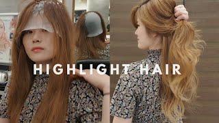셀프탈색 셀프발레아쥬:) DIY Highlights [제이헤어 유진쌤]